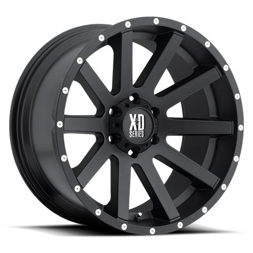Xd XD818 HEIST 17x8 35MM 5x110 SATIN BLACK XD81878042735