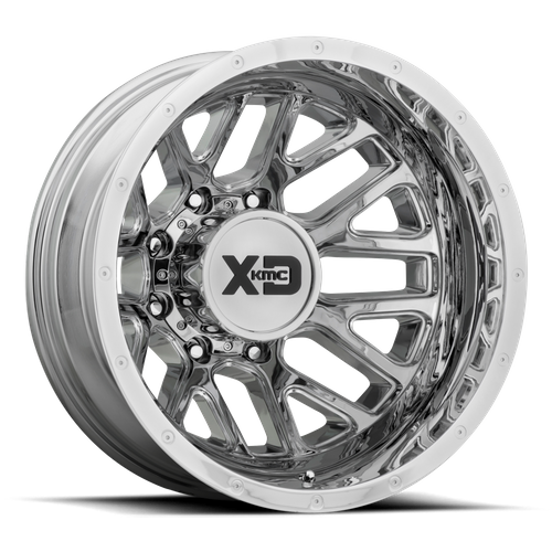 Xd XD843 GRENADE DUALLY 17x6.5 -140MM 8x165.1 CHROME - REAR XD843765802140N