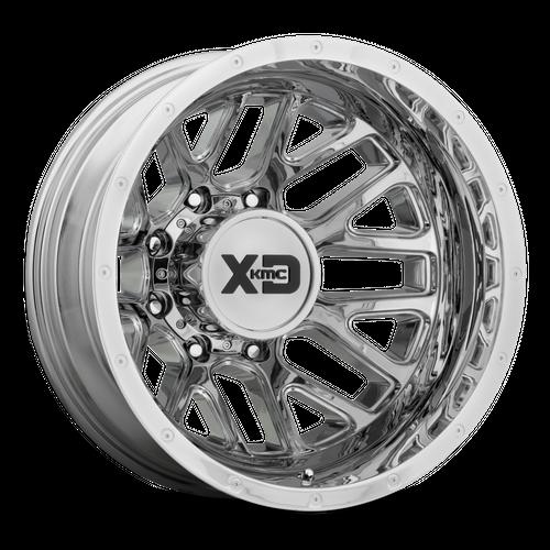 Xd XD843 GRENADE DUALLY 17x6.5 -140MM 8x210 CHROME - REAR XD843765892140N