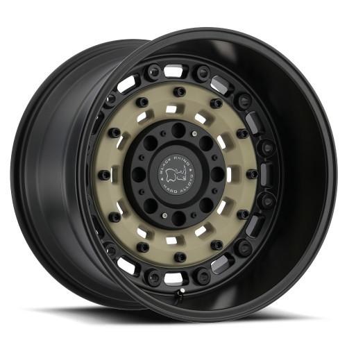 Black Rhino ARSENAL 17x9.5 -18MM 8x165.1 MT - Matte 1795ARS-88165D22