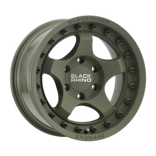 Black Rhino BANTAM 16x8 -10MM 6x139.7 MT - Matte 1680BTM-06140N12