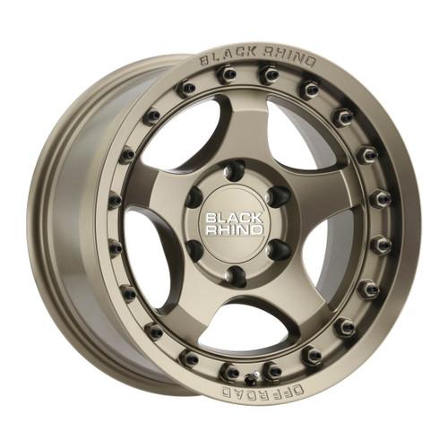 Black Rhino BANTAM 16x8 -10MM 6x139.7 MT - Matte 1680BTM-06140Z12