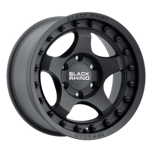 Black Rhino BANTAM 17x8.5 -10MM 6x139.7 MT - Matte 1785BTM-06140M12