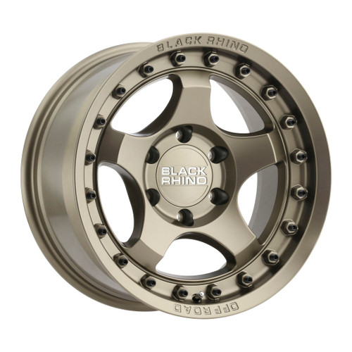 Black Rhino BANTAM 17x8.5 -10MM 6x139.7 MT - Matte 1785BTM-06140Z12
