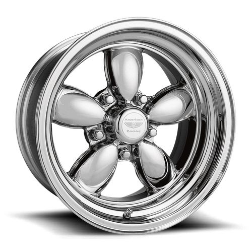 American Racing VN420 CLASSIC 200S 15x10 -25MM 5x127 TWO-PIECE POLISHED VN420517345