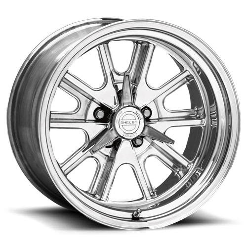 American Racing VN427 SHELBY COBRA 15x7 -25MM 5x127 TWO-PIECE POLISHED VN427577330