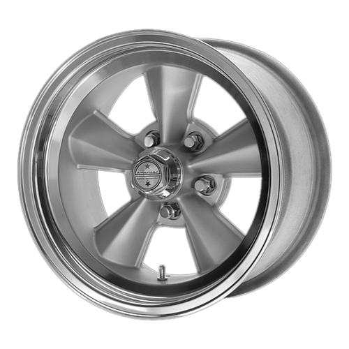 American Racing VNT70R 17x7 00MM 5x114.3 GUN METAL W/ POLISHED LIP VNT70R7765