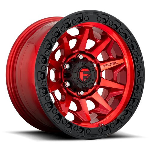 Fuel Offroad COVERT BL - OFF ROAD ONLY 17x9 -15MM 5x127 CANDY RED D11317907545