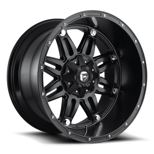 Fuel Offroad HOSTAGE 17x8.5 38MM 5x110/5x127 MATTE BLACK D53117855162