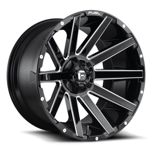 Fuel Offroad CONTRA 22x10 -19MM 6x135/6x139.7 GLOSS BLACK MILLED D61522009846