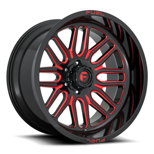 Fuel Offroad IGNITE 20x10 -19MM 6x139.7 GLOSS BLACK RED TINTED CLEAR D66320008446