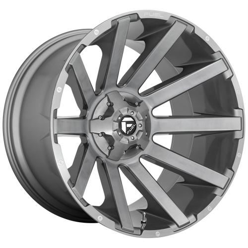 Fuel Offroad CONTRA PLATINUM 20x10 -19MM 6x135/6x139.7 BRUSHED GUN METAL TINTED CLEAR D71420009846