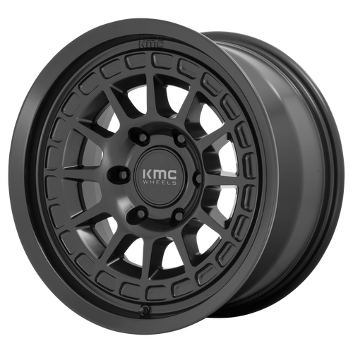 Kmc KM719 CANYON 17x8.5 00MM 6x135 SATIN BLACK KM71978563700
