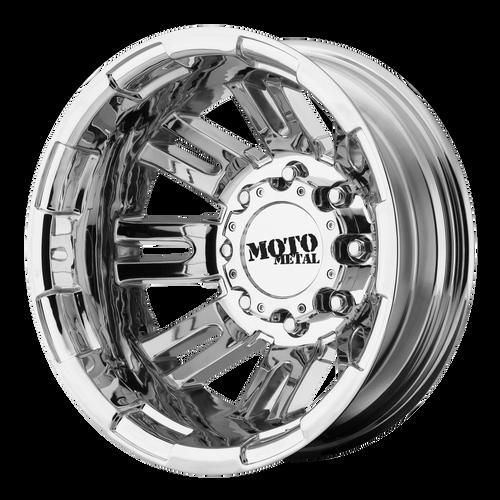Moto Metal MO963 17x6 -134MM 8x165.1 PVD DUALLY - REAR MO96376080894N