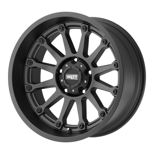 Moto Metal MO971 16x8 0MM 5x114.3 SATIN BLACK MO97168012700