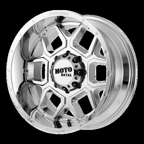 Moto Metal MO981 SPADE 20x10 -24MM 6x139.7 CHROME MO98121068224N