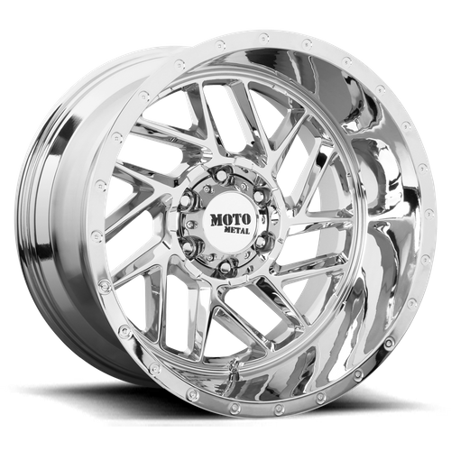 Moto Metal MO985 BREAKOUT 16x8 -6MM 6x120 CHROME MO98568077206N