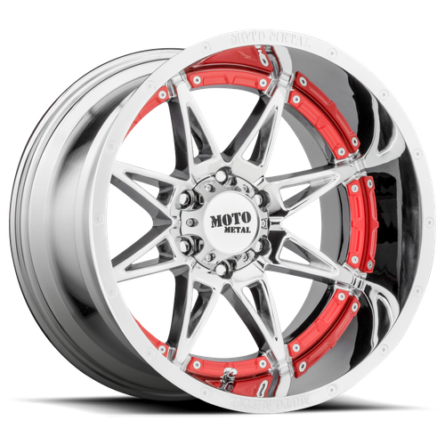 Moto Metal MO993 HYDRA 17x9 -12MM 8x165.1 CHROME MO99379080212N