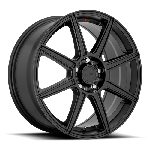 Motegi MR142 CS8 16x7 40MM 5x110/5x115 SATIN BLACK MR14267021740