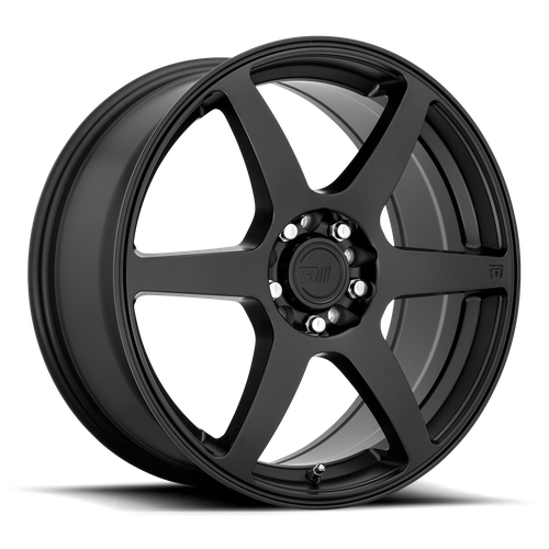 Motegi MR143 CS6 15x6.5 40MM 4x100/4x108 SATIN BLACK MR14356508740