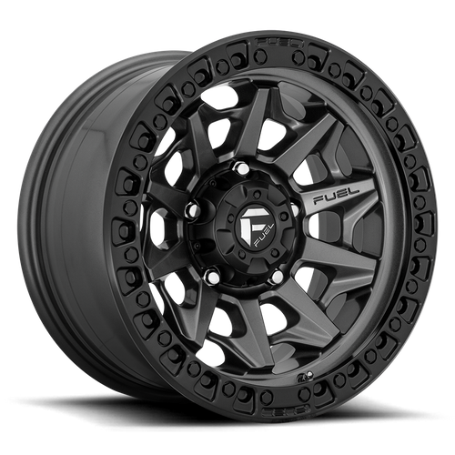 Fuel Offroad COVERT 17x9 -12MM 6x139.7 MATTE GUN METAL BLACK BEAD RING D71617908445