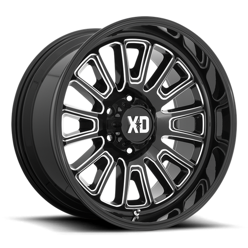 Xd XD864 ROVER 22x10 -18MM 8x170 GLOSS BLACK MILLED XD86422087318N