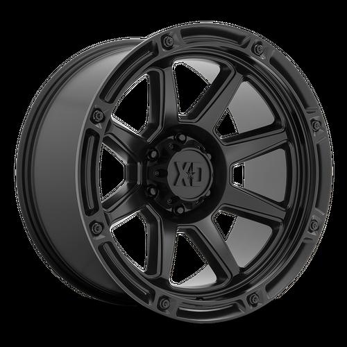 Xd XD863 20x10 -18MM 5x127 SATIN BLACK XD86321050718N