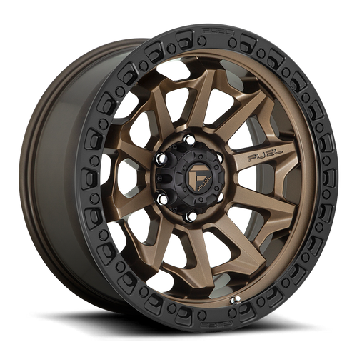Fuel Offroad COVERT 18x9 -12MM 8x170 MATTE BRONZE BLACK BEAD RING D69618901745