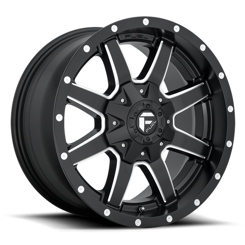 Fuel Offroad MAVERICK 20x8.25 105MM 10x225 MATTE BLACK MILLED D5382082A9