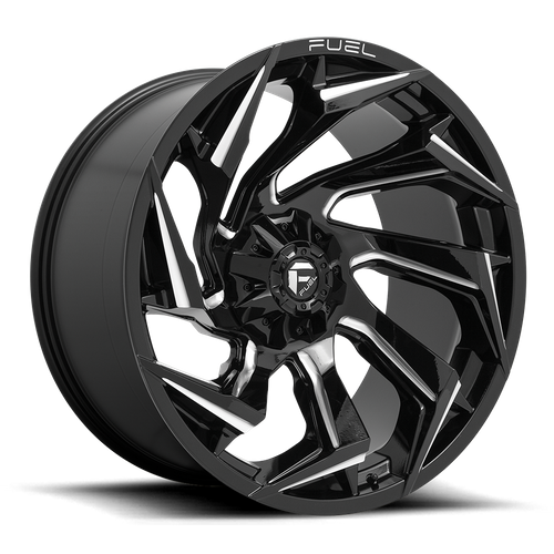 Fuel Offroad REACTION 20x9 08MM 6x120 GLOSS BLACK MILLED D75320909452