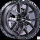 Bbs SR 17x7.5 35MM 5x120 Satin Grey SR003SG