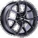Bbs SR 18x8 32MM 5x120 Satin Grey SR019SG