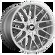 Rotiform RSE 18x9.5 35MM 5x112/5x120 GLOSS SILVER R1401895F4+35