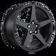 Rotiform WGR 18x8.5 45MM 5x112 MATTE BLACK R148188543+45