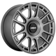 Rotiform OZR 19x8.5 45MM 5x112/5x120 MATTE ANTHRACITE R158198525+45