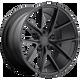 Niche MISANO 20x9 38MM 5x115 MATTE BLACK M117209090+38
