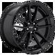 Niche DFS 22x9 38MM 5x114.3 GLOSS BLACK M223229065+38