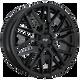 Niche GAMMA 22x9 38MM 5x114.3 GLOSS BLACK M224229065+38
