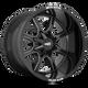 Moto Metal MO970 17x8 00MM 8x180 GLOSS BLACK W/ MILLED SPOKE & MOTO METAL ON LIP MO970780883B00
