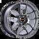 Bbs RF 18x8 45MM 5x112 Diamond Black RF516DBK