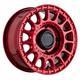 Black Rhino Powersports SANDSTORM UTV 15x7 51MM 4x110 CANDY RED 1570SND514110R80