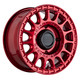 Black Rhino Powersports SANDSTORM UTV 15x7 51MM 4x137 CANDY RED 1570SND514136R06