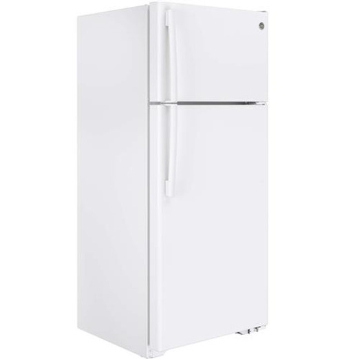 17.5 cu. Ft. Top-Freezer Refrigerator - Black or White