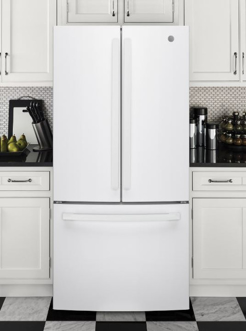24.7 cu. Ft. Energy Star French-Door Refrigerator- White