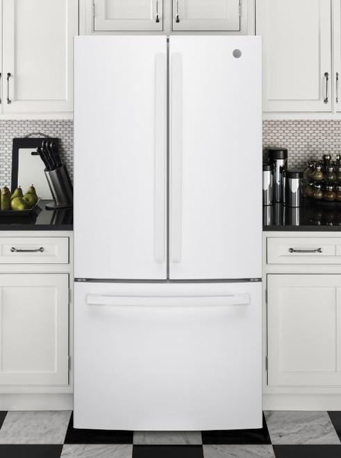 24.7 cu. Ft. Energy Star French-Door Refrigerator- White