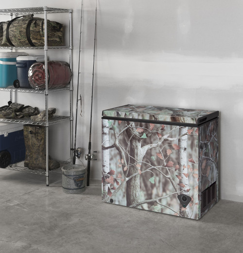 7.0 cu. Ft. Camouflage Manual Defrost Chest Freezer