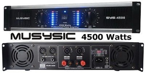 Pro 4500 Watt Bluetooth Rack Stereo System
