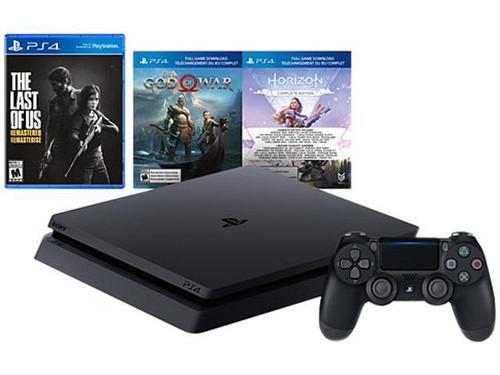 PS4 1TB Console Bundle
