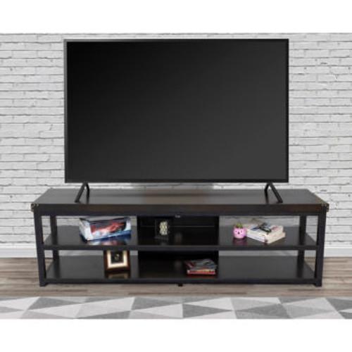 Marlow TV Stand Rustic Oak