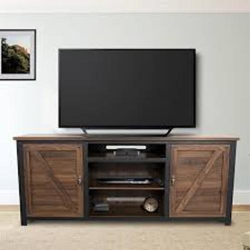 Porto Novo TV Console - Heritage Walnut